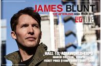 ライブツアー「ジェームス・ブラント」アジアワールド・エキスポで開催