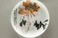 巨匠2人のエキシビション「Porcelain and Painting」沙田