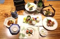 日本から取り寄せた和食の数々「立村日本料理」広州
