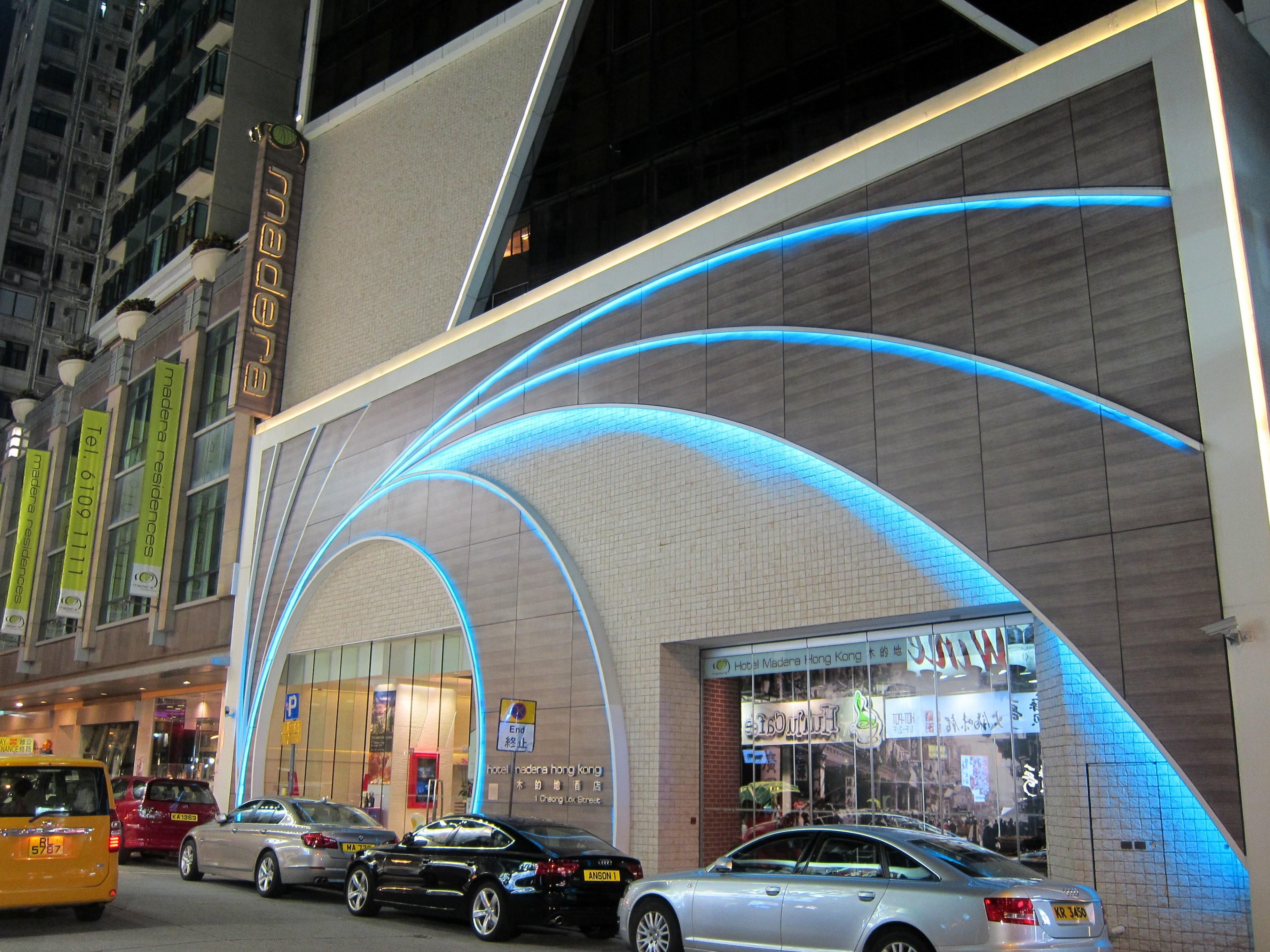 Madera Hotel entrance