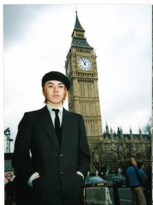 ロンドンツアーも行ったバンド活動時代の写真