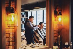 クラシカルバーバー「SurpassNine barber shop」深圳