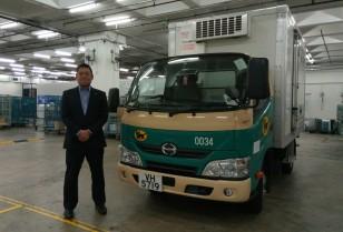 一貫した保冷輸送を開始「香港ヤマト運輸」