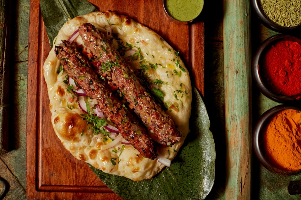 和牛を使用したケバブ「Wagyu Seekh Kebab」
