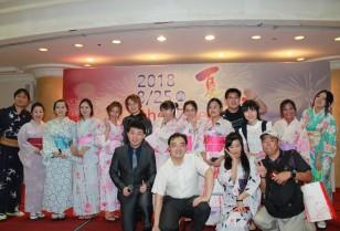 深圳市中日経済文化交流協会主催の夏祭2018年!
