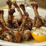 Grilled Rosemary Chicken Lollipops