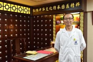 李先生、穏やかな笑顔の大ベテラン