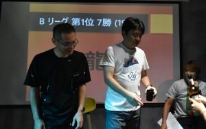 Bリーグ・・・九龍B1チーム(7勝、沙井Bチームも7勝だが、得セット数の差で惜しくも2位)