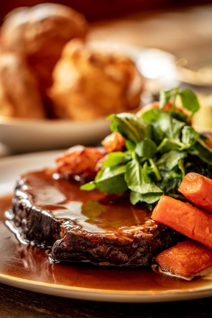 最も伝統的なメニューに近い「Roast Rib of Hereford Beef」