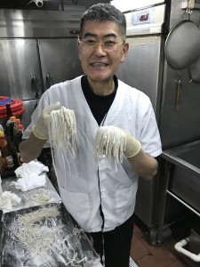 僕の蕎麦を是非食べに来てくださいと宇津木料理長