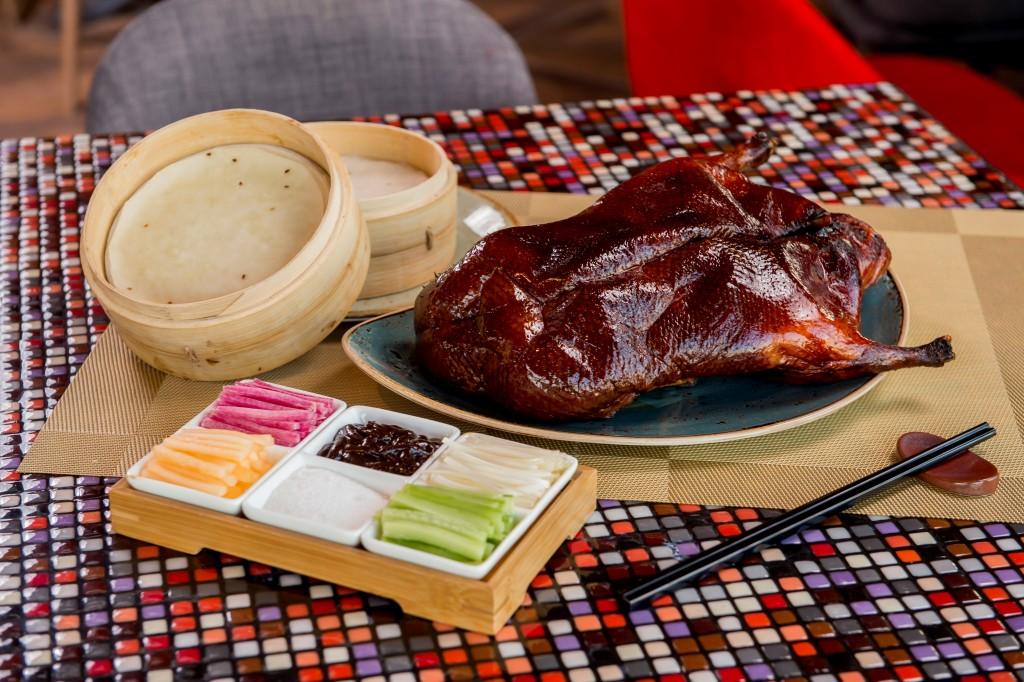 同店自慢の北京ダック「Redhouse Signature Peking Duck」