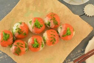 キレイをつくるレシピ帳 第42回「菜の花とサーモンの手毬寿司」