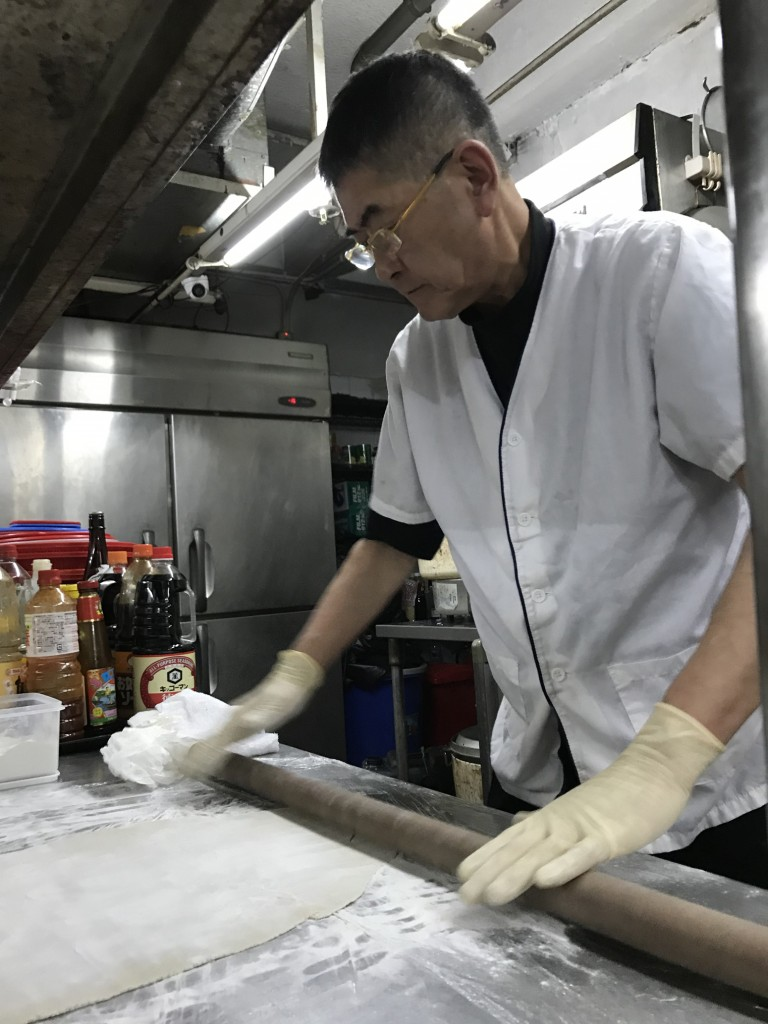 丹精込めて粉から打つ蕎麦