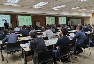 香港支局長が講演会を開催「日本経済新聞社」