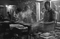 中国・夏の風物詩「焼烤」