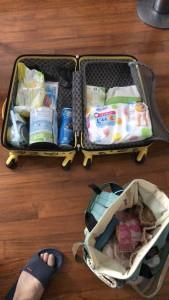 赤ちゃんの入院は旅行よりも準備が大変