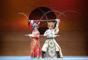 点心とお茶を嗜みながら広東オペラ「茶館劇場」尖沙咀