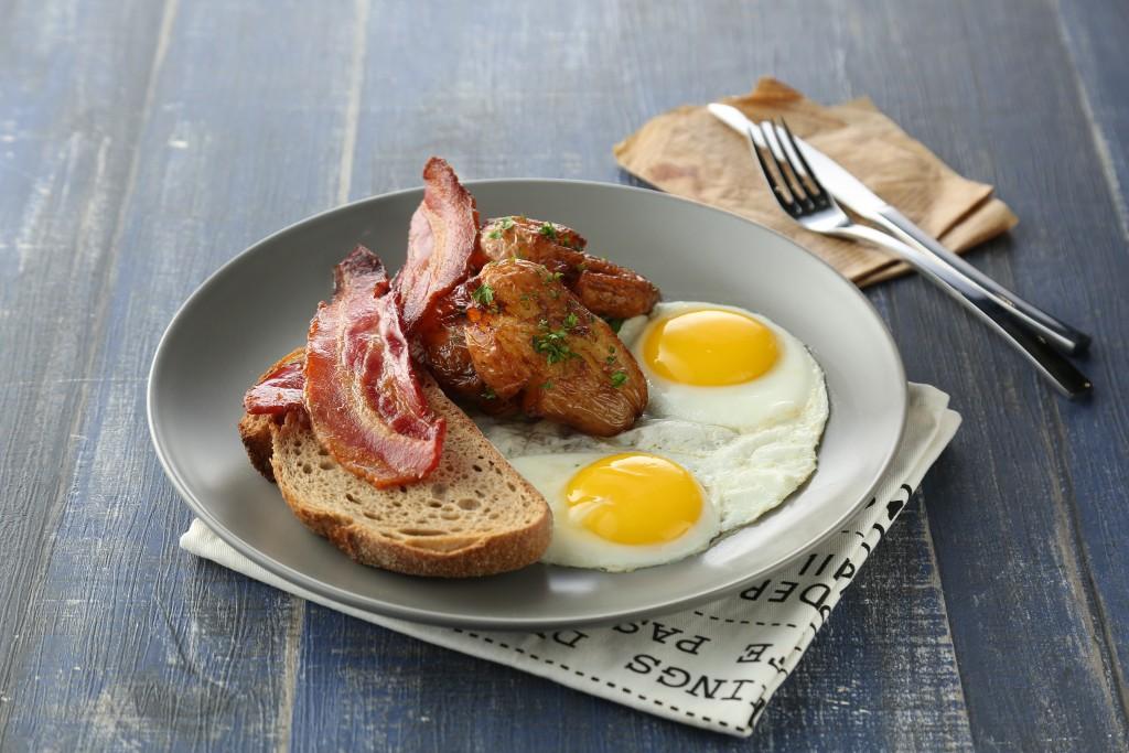 アメリカの定番朝食メニュー「Classic Breakfast」