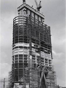 当時建設中の羅湖地王ビル