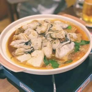 龍の酒場 牡蠣鍋