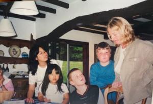Speakeasyの夏の合宿でフランスに。娘さん11歳、5歳