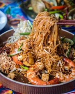 人気メニューの「Phad Thai Noodles」
