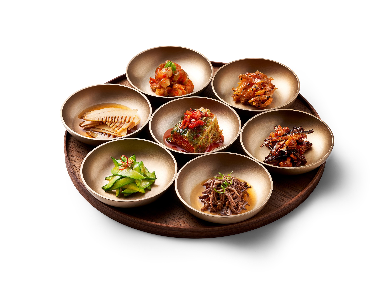 新鮮なキムチの盛り合わせ「Kimchi of the Day」