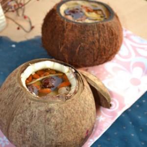 椰子煮鶏湯