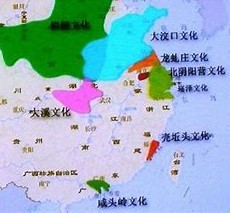 新石器時代地図
