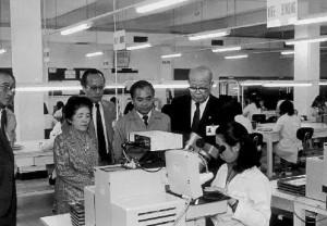 1984年、蛇口三洋電機