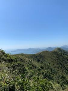 4) 馬鞍山 稜線