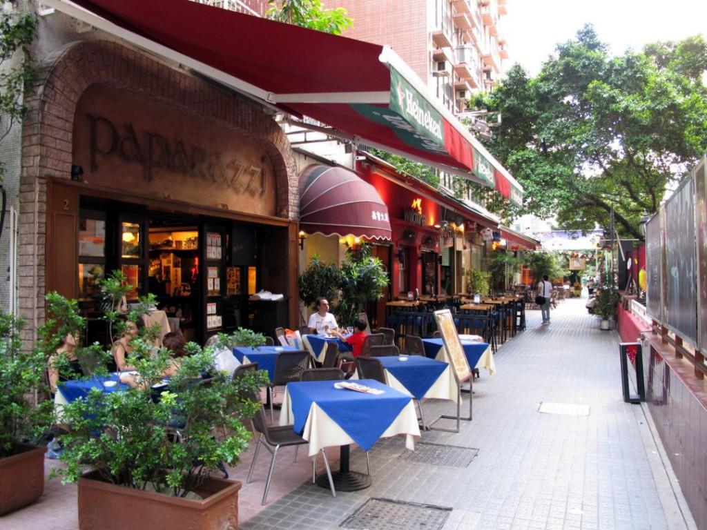 香港尖沙咀Knutsford Terrace