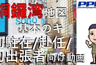 【PPW動画NEWS】 香港銅鑼湾『基本のキ』初駐在・初赴任・出張者必見!銅鑼湾エリア紹介動画