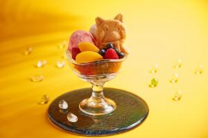 Whiskers and Friends Ningyo-yaki with Ice-cream Sundae (1)