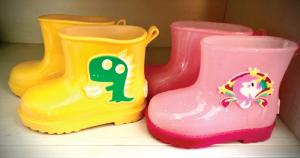 小葉子の長靴