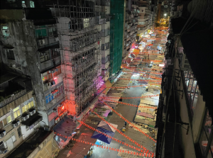 自宅屋上からの夜景